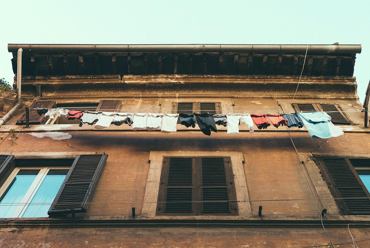 洗濯物のいい風景